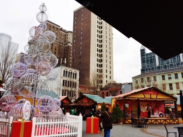 christmas cheer on market square