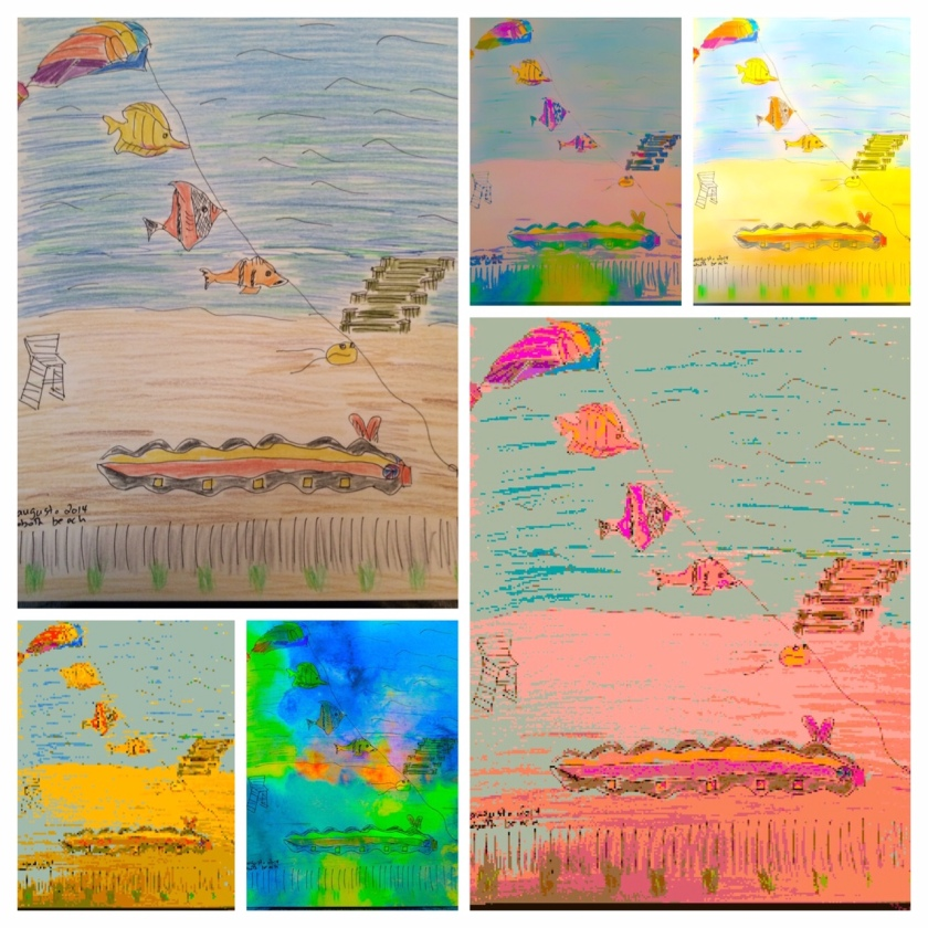 rehoboth kite collage