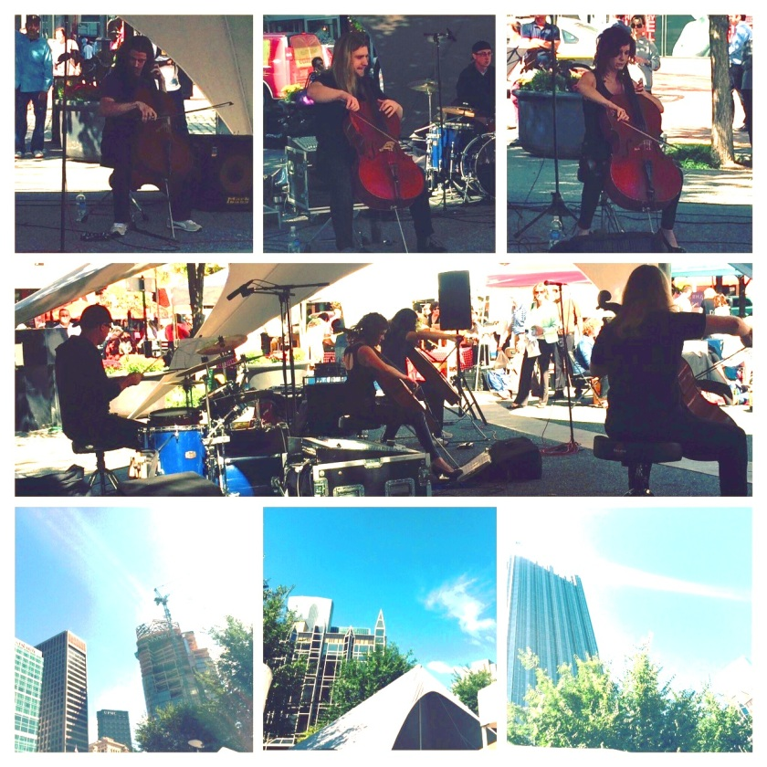 cello fury at market square1