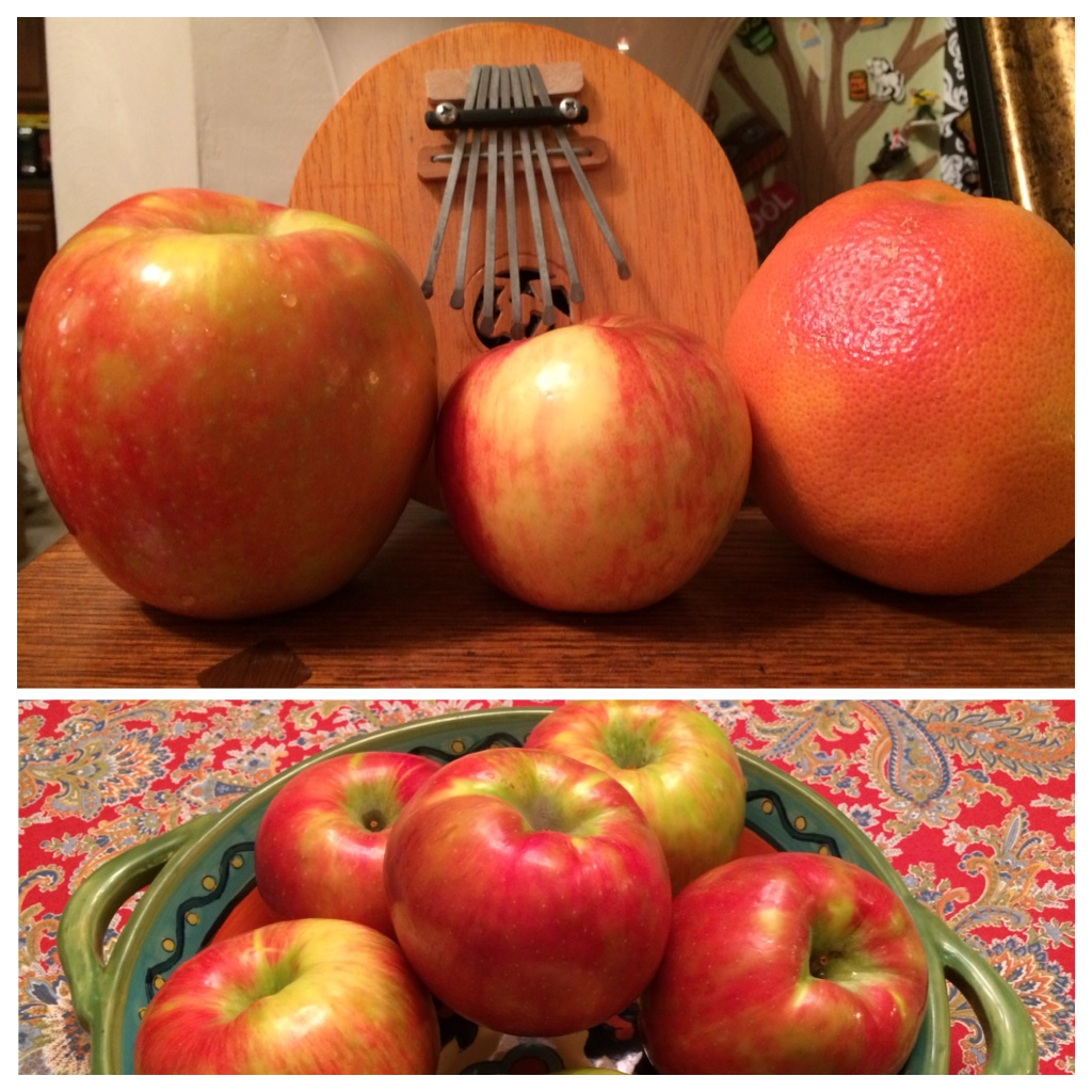 ginormous honeycrisps!