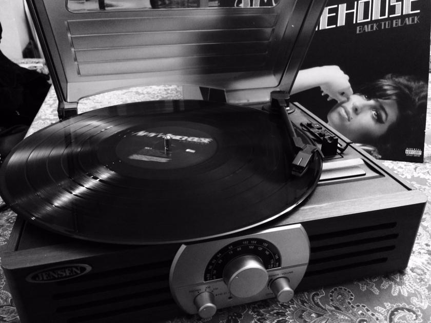 phonograph bw