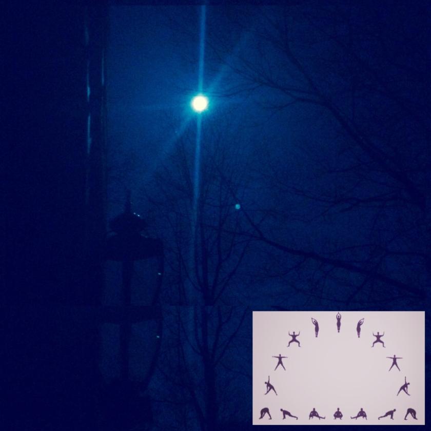 yoga under mourning moon